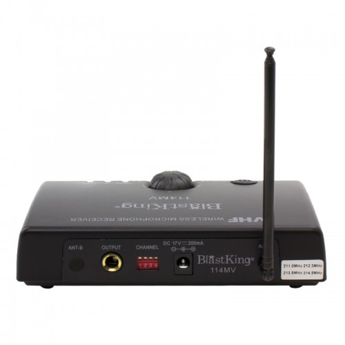 Wireless Microphone System - 114MV