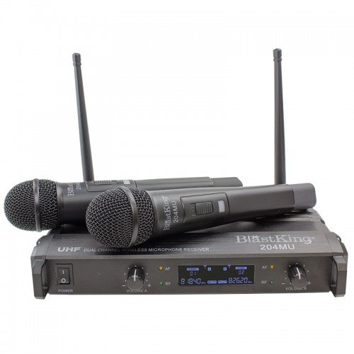 Dual Channel Wireless Microphone System - 204MU