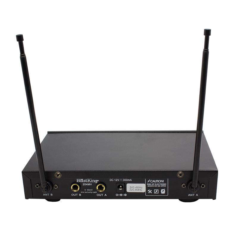 Dual Handheld Wireless Microphone System - 204MV