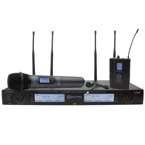 True Diversity Wireless Microphone System - 2240MLU