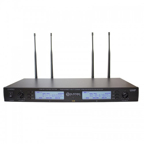 True Diversity Wireless Microphone System - 2240MU