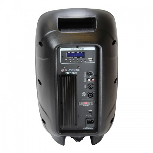 "10"" Active 600 Watts Loudspeaker w/Media Player - BDS10ABT"