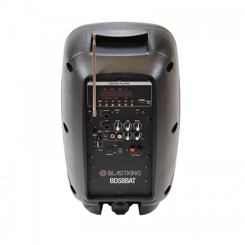 """8"""" Active 600 Watts Portable PA System - BDS8BAT"""