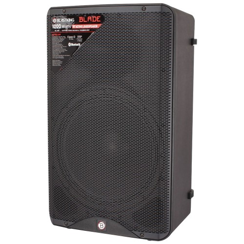 "15"" Active Loudspeaker 1000 Watts Class-D with DSP Processor - BLADE15A"