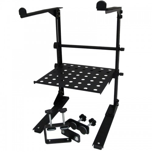 Laptop Stand with Tray and Table Clamps - BLPS-5COMBO