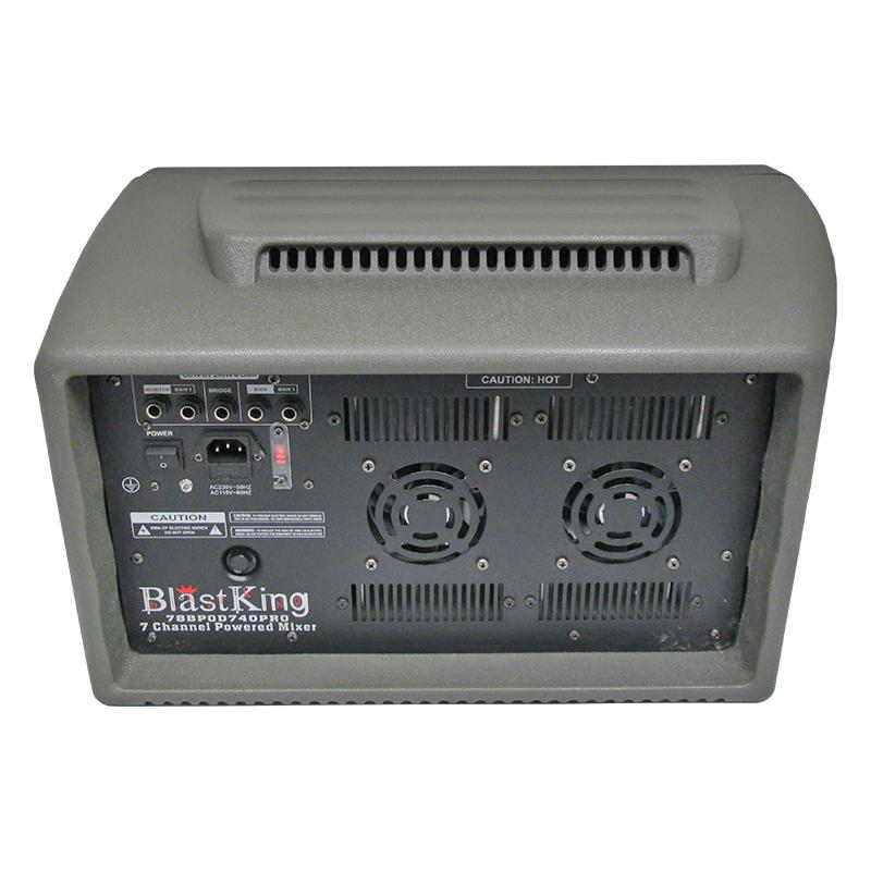 400 Watts 7 Channel Powered Mixer - BPOD740PRO