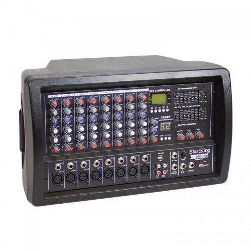 400 Watts 8 Channel Powered Mixer – BPOD850