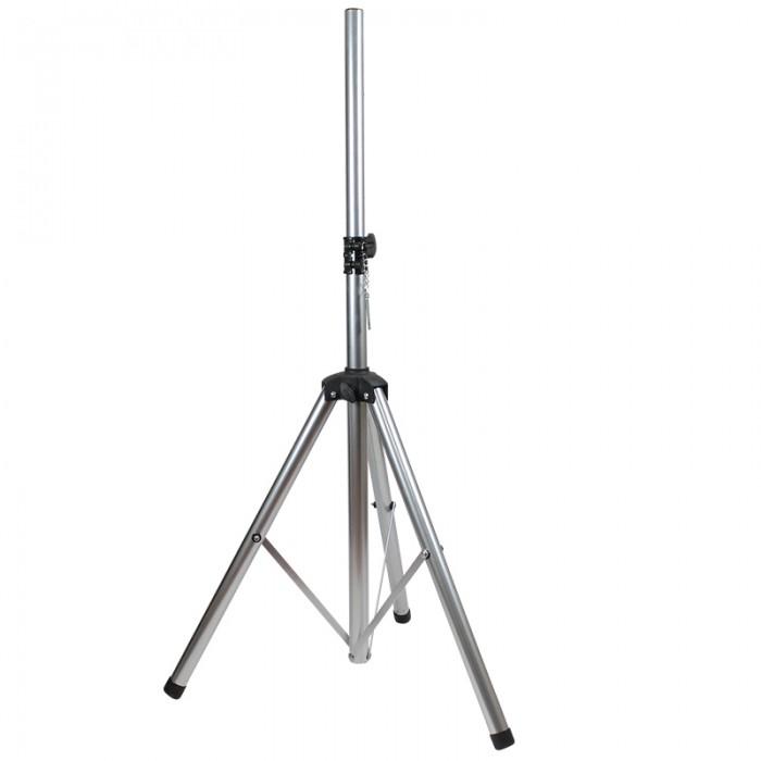 Silver Heavy Duty Tripod Speaker Stand – BS200-SLV