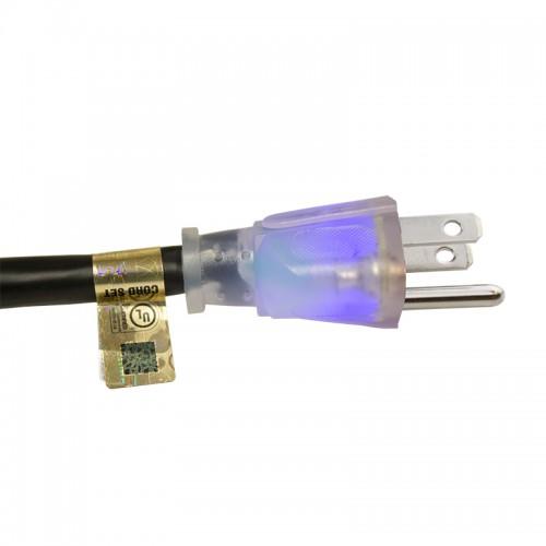 Lighted Power Extension Cord 14 Gauge - C3PE14L plug