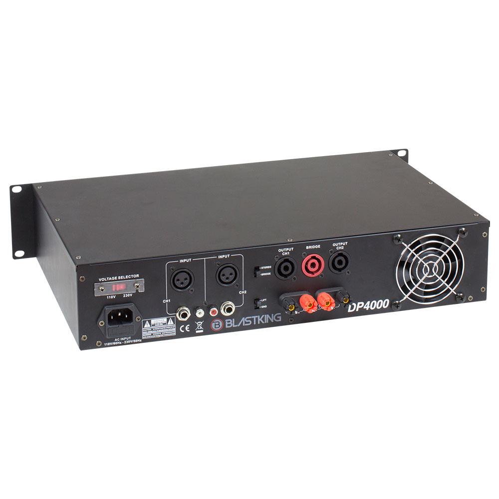 4000 Watts Professional Power Amplifier Dp4000 Blastking