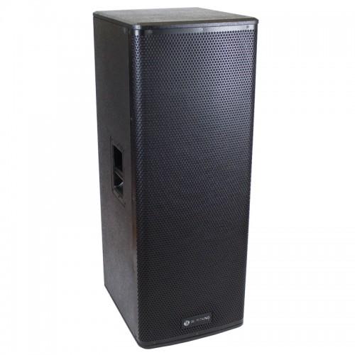 "Dual 15"" Active 2400 Watts Class D 2-way Loudspeaker - KXD215A"