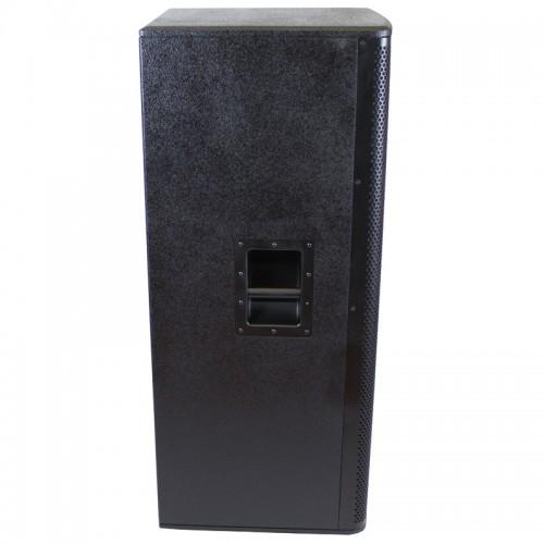 "Dual 15"" Passive 2400 Watts Class D 2-way Loudspeaker - KXD215"