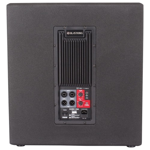 "18"" Active Subwoofer 1200 Watts Class-D Amplifier - KXDII18A"
