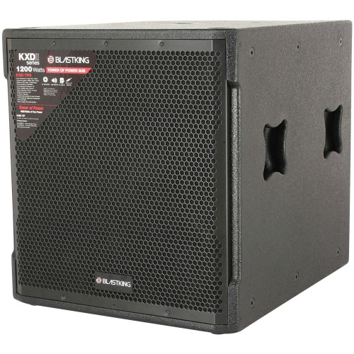 "18"" Active Subwoofer 1200 Watts Class-D Amplifier - KXDIITPS"