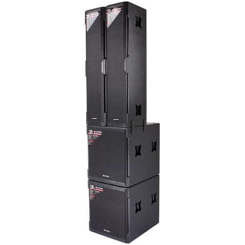 Active Speaker Tower System 4000 Watts Class-D Bi-Amp and DSP - KXDIITP