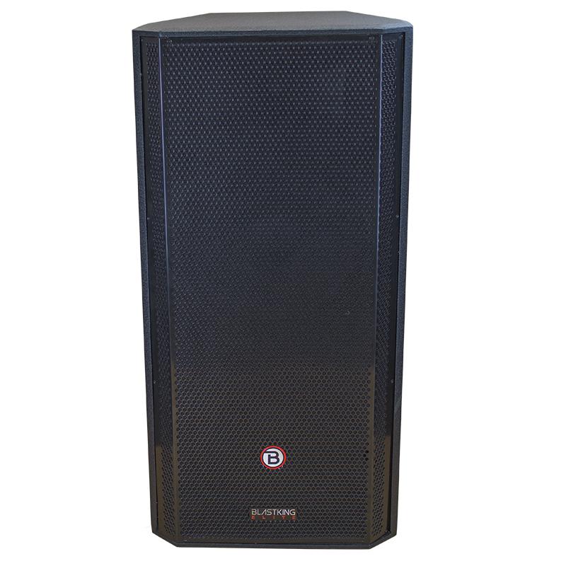 Dual 15 Inch Two Way Powered Speaker Kxt215a Blastking