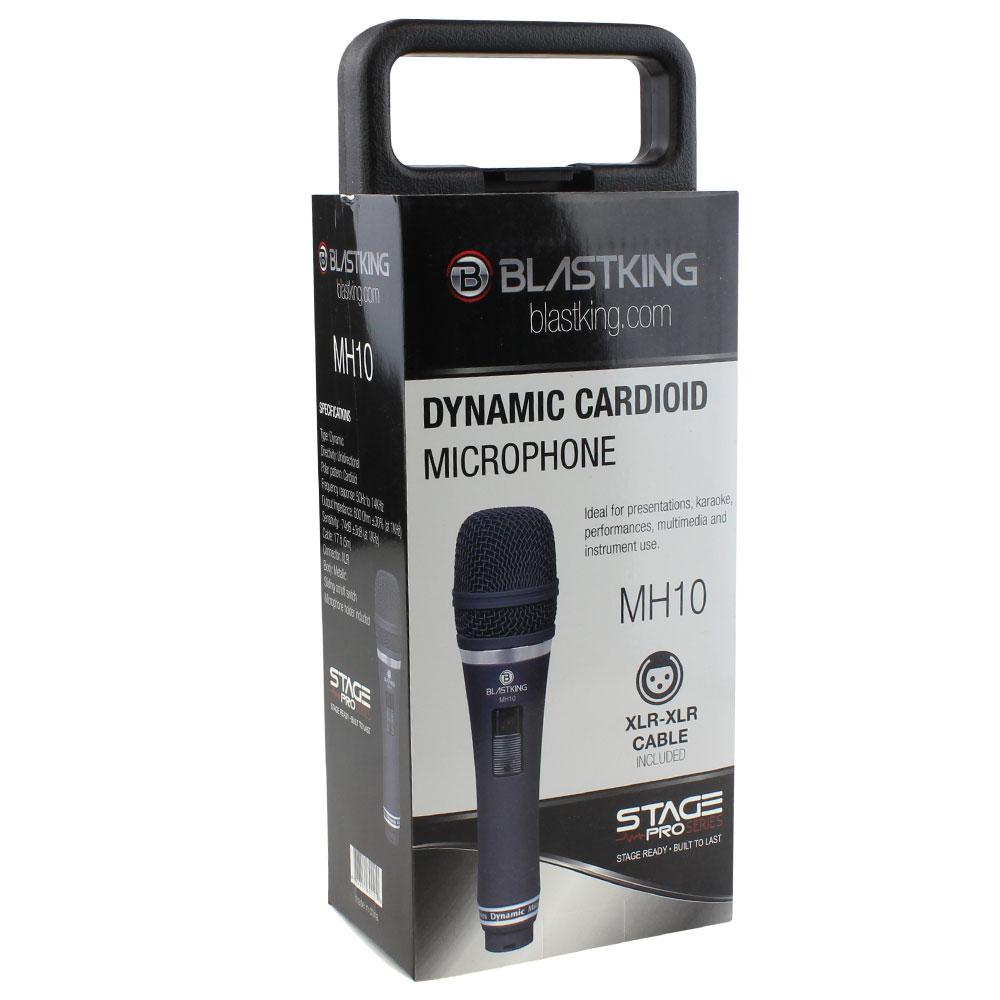Dynamic cardioid handheld microphone - MH10