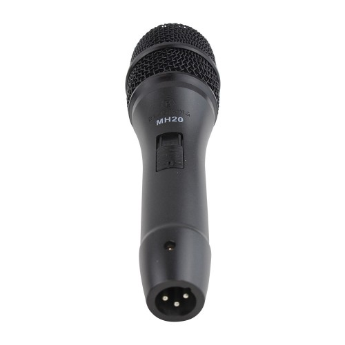 Dynamic cardioid handheld microphone - MH20