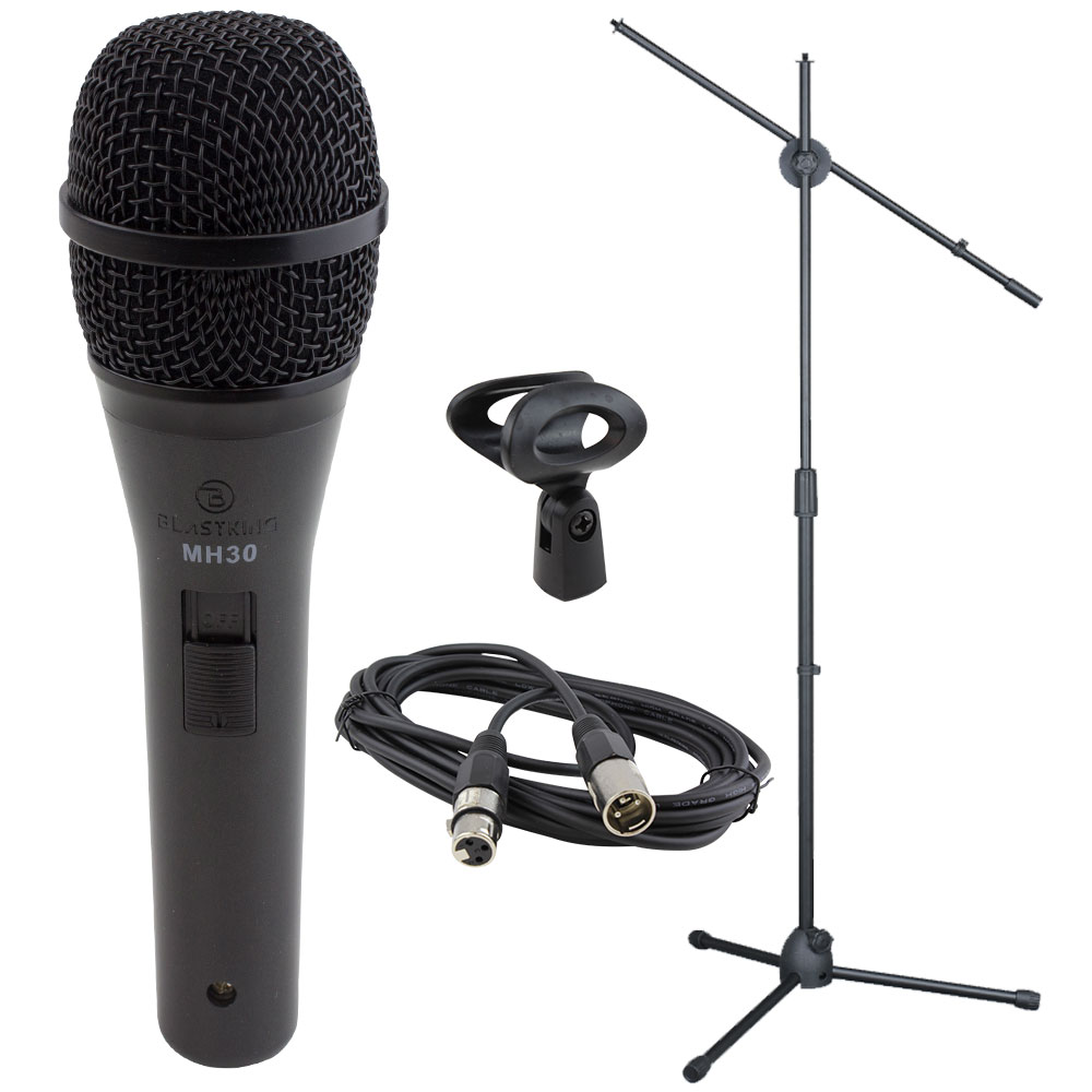 Microphone and Stand Kit - MH30KIT