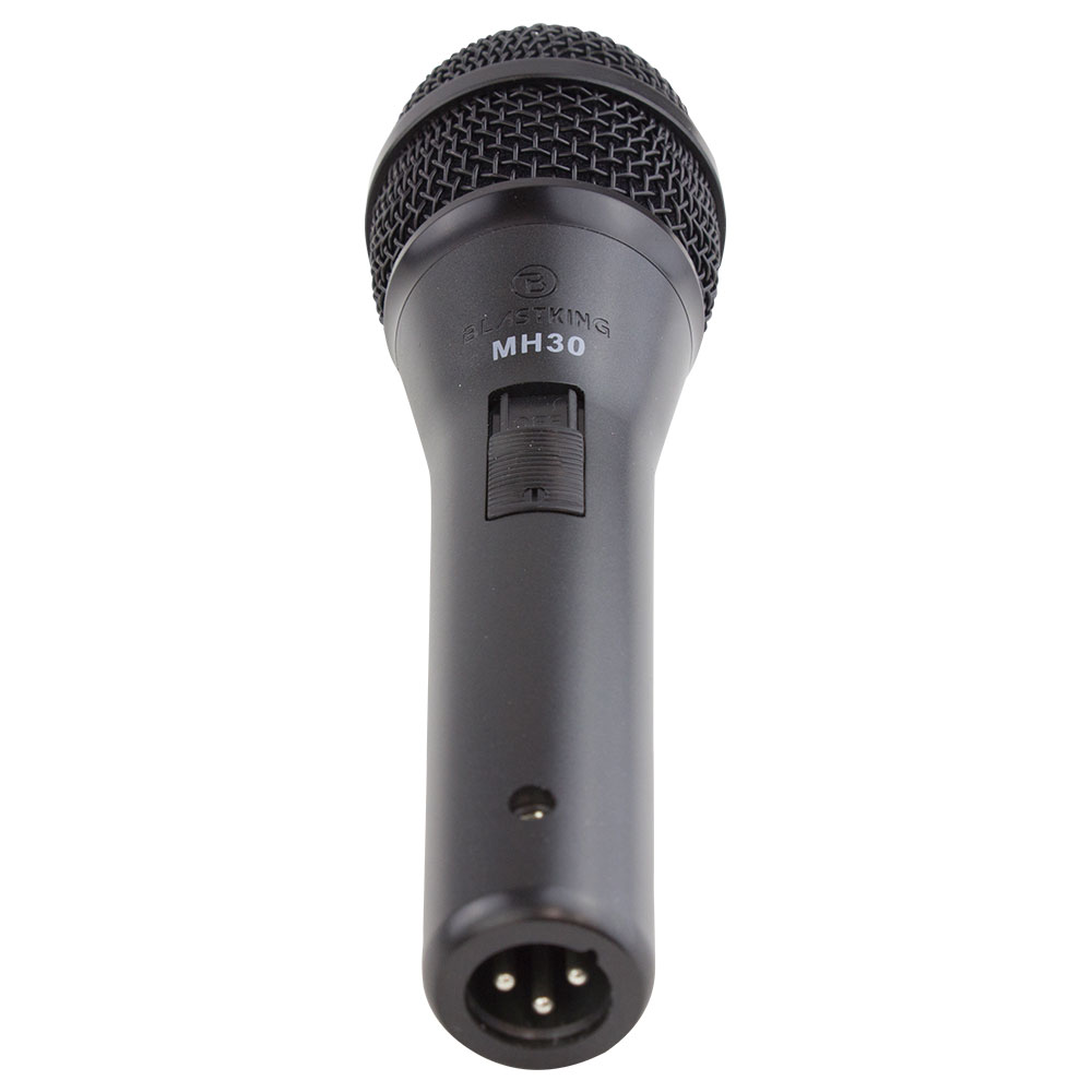 Dynamic cardioid handheld microphone – MH30