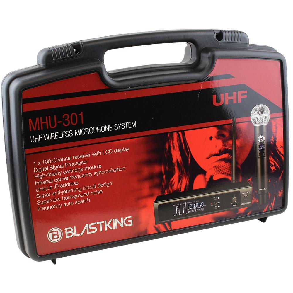 UHF DSP WIRELESS MICROPHONE SYSTEM – MHU-301 – Blastking