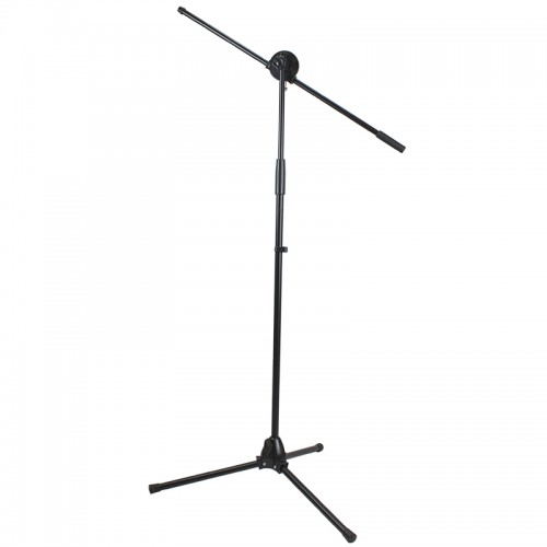 Folding Base Microphone Stand with Boom - MS305B-1