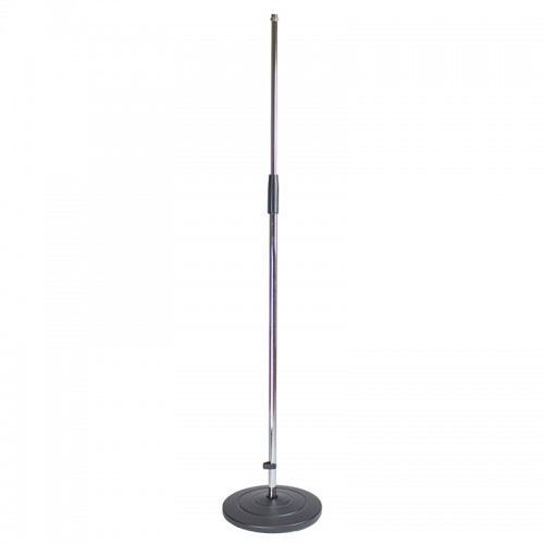 Microphone Stand with Round Black Base - MS306C-1
