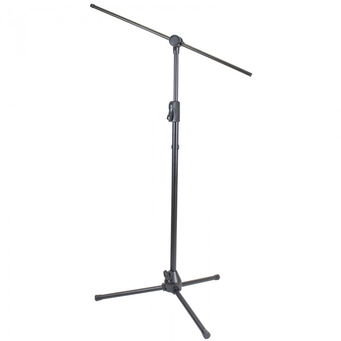 Folding Base Microphone Stand with Boom - MS500