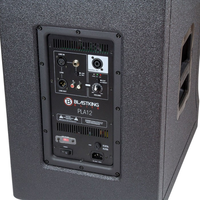 """12"""" Portable All-In-One PA System 1200 Watts - PLA12"""