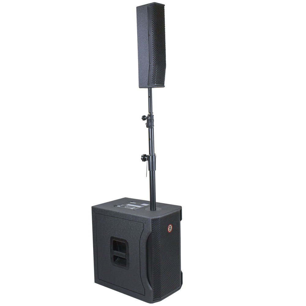 "12"" Portable All-In-One PA System 1200 Watts - PLA12"