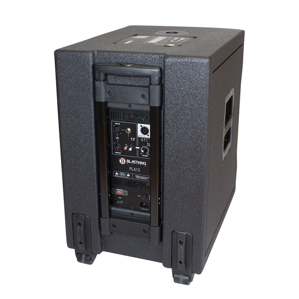 15 portable all in one pa system 1400 watts pla15 blastking. Black Bedroom Furniture Sets. Home Design Ideas