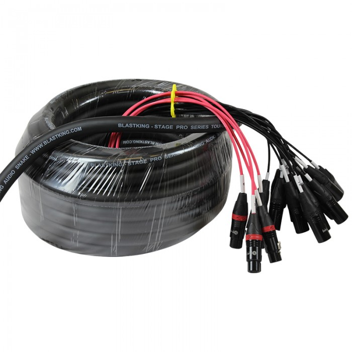 Stage / Studio Snake Cable 16x4, 100 Ft. - SPS16X4-100