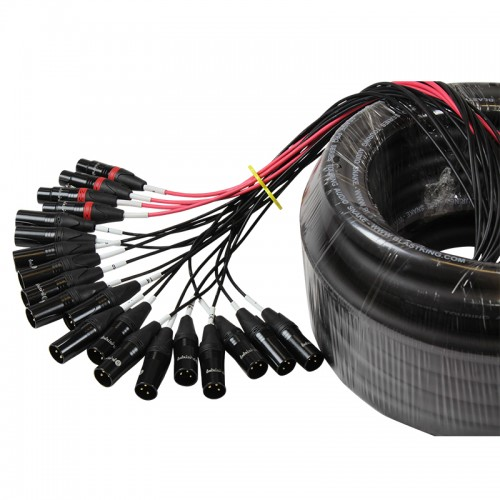Stage / Studio Snake Cable 16x4, 50 Ft. - SPS16X4-50