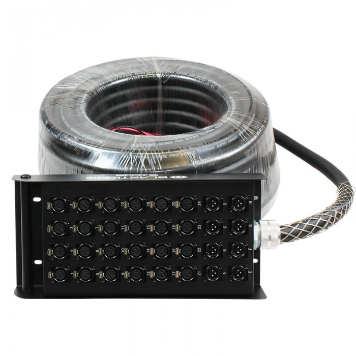 Stage / Studio Snake Cable 24x8, 100 Ft. - SPS24X8-100