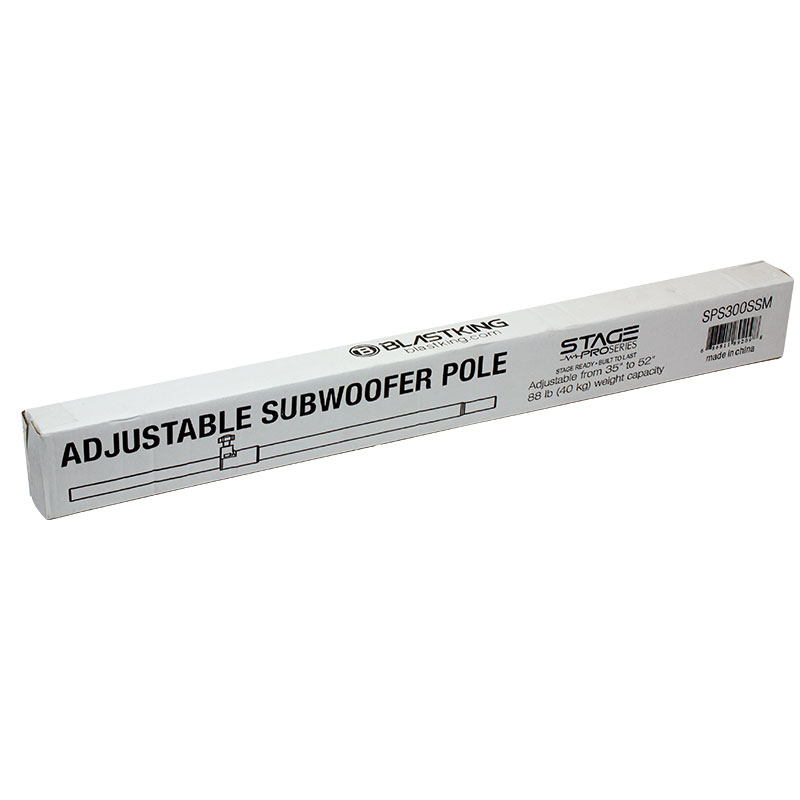 Adjustable Subwoofer Pole - SPS300SSM