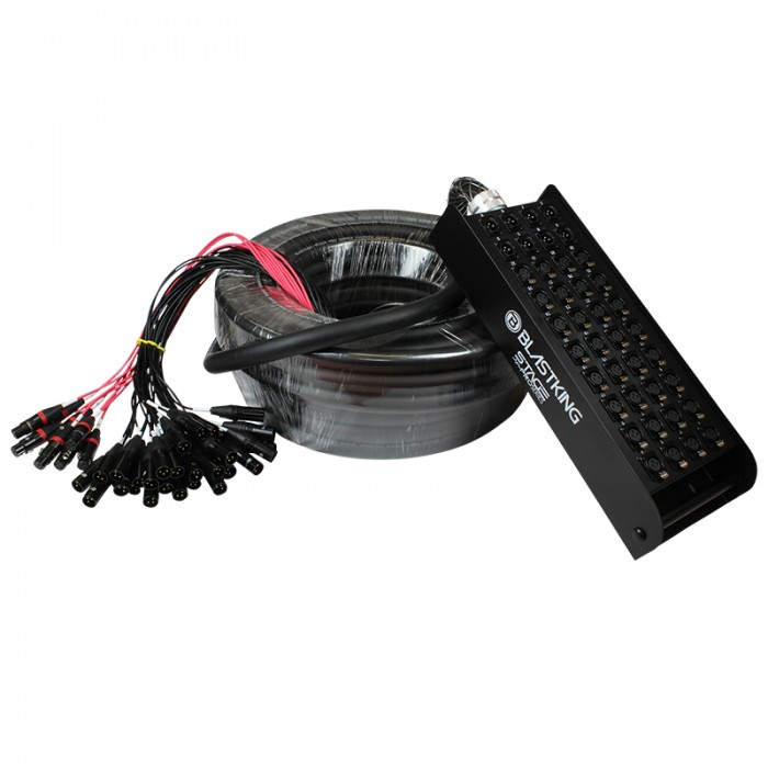 Stage / Studio Snake Cable 32x8, 100 Ft. - SPS32X8-100