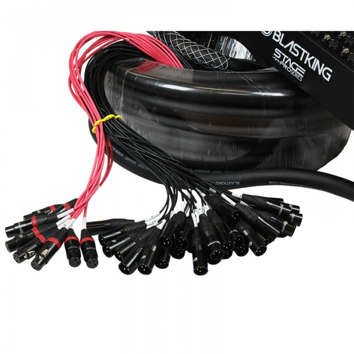 Stage / Studio Snake Cable 32x8, 150 Ft. - SPS32X8-150