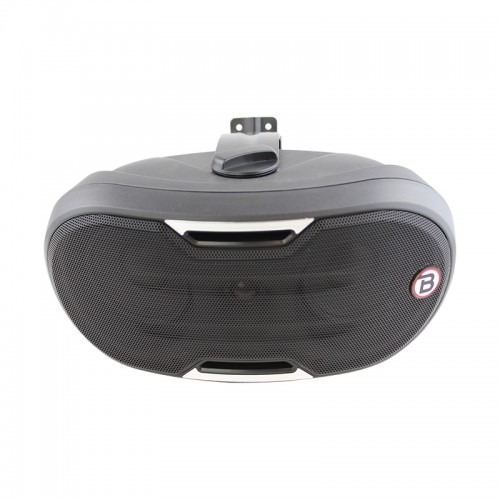 "4"" Two-way Surface-mount loudspeaker - Black - ZONE1B"