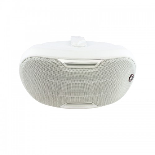 "4"" Two-way Surface-mount loudspeaker - White - ZONE1W"