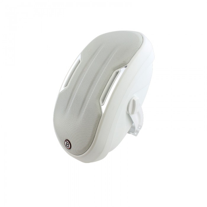 "4"" Two-way Surface-mount loudspeaker - White - ZONE1W"