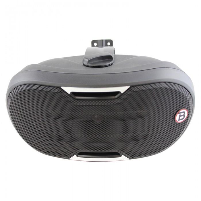 "5.25"" Two-way Surface-mount loudspeaker - Black - ZONE2B"