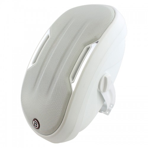 "5.25"" Two-way Surface-mount loudspeaker - White - ZONE2W"