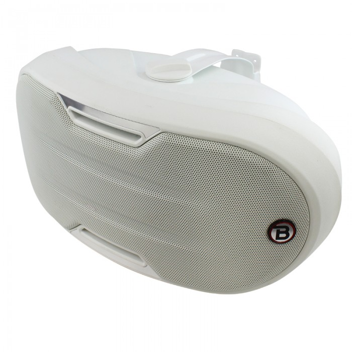 "5.25"" Two-way Surface-mount loudspeaker - White - ZONE2W"