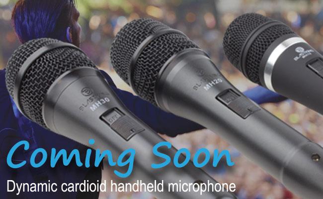 Dynamic cardioid handheld microphone